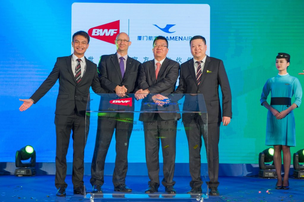 ESG Secures Xiamen Airlines for BWF World Championships