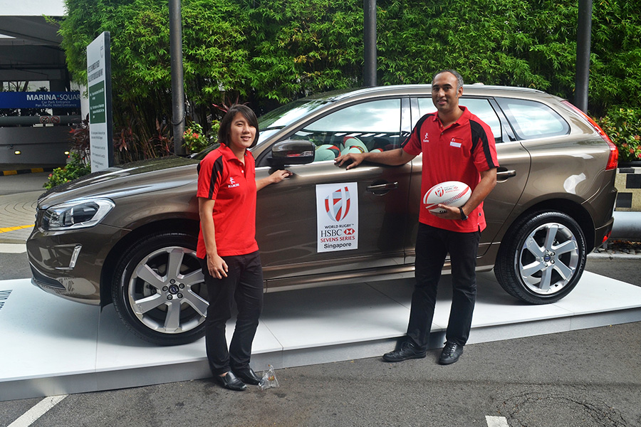 ESG Secures Volvo & Pan Pacific for HSBC World Rugby Singapore Sevens
