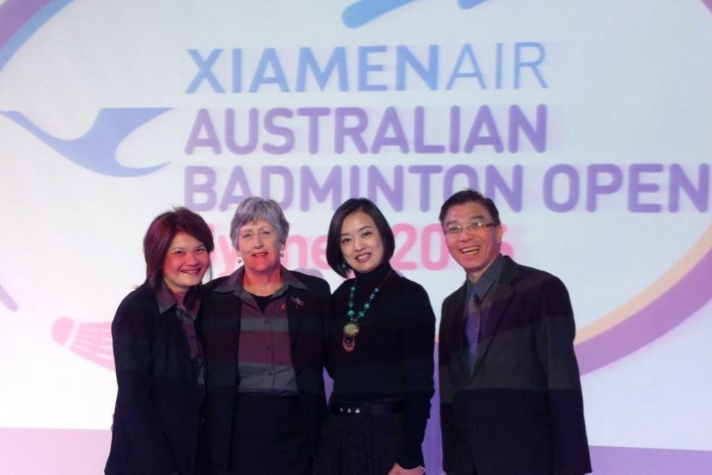 ESG Secures XiamenAir for Australian Badminton Open
