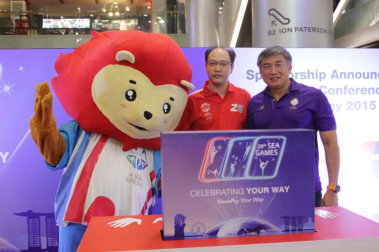 ESG Secures UnionPay International for 28th SEA Games